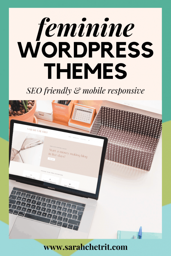 I've bought four different feminine WordPress themes for four of my blogs. See which SEO friendly themes I recommend for bloggers! #wordpresstheme #wordpresswebsites #wordpresshosting #socialmediatools #bloggingtipsforwomen #tipsforblogging #bloggingtips101 #tipsblogging #bloggingtipsforbeginners #personalblog #websitedesign #blogtheme #lifestylebloggers #microblogger #bloggingtips #socialmediatools #bloggingtipsforwomen