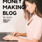 free blogging course PIN