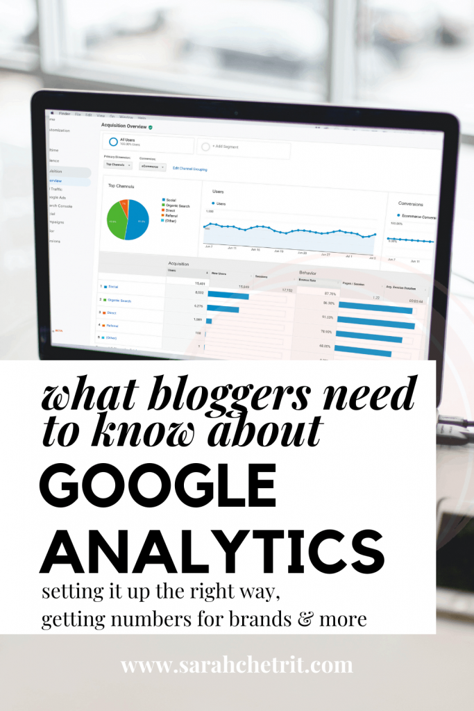 Learn how to use google analytics for wordpress blog