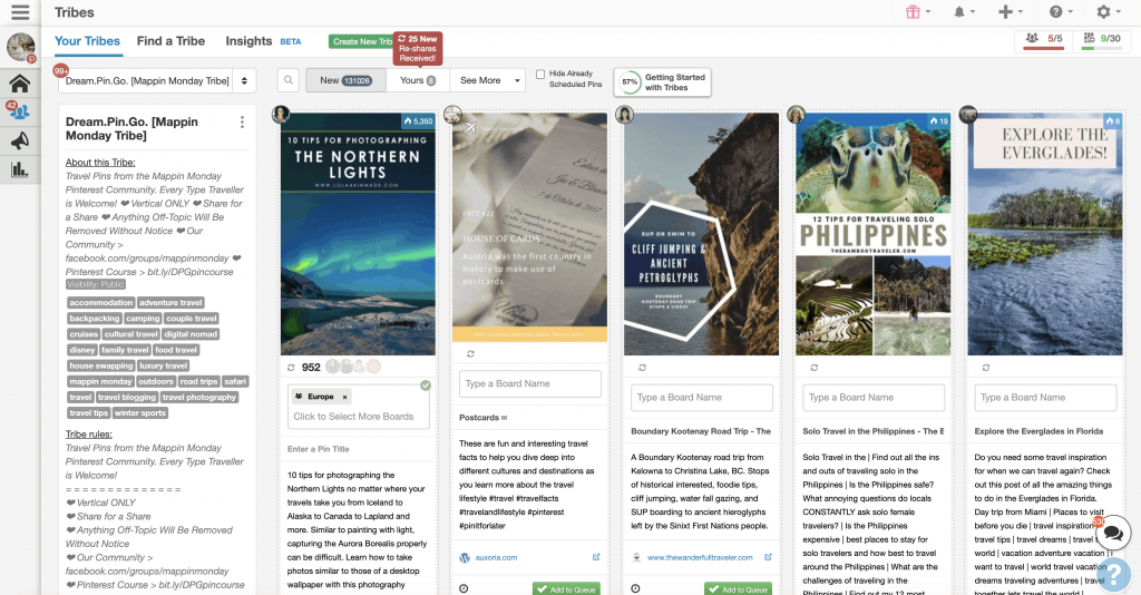Pinterest tips for beginners: tailwind tribe