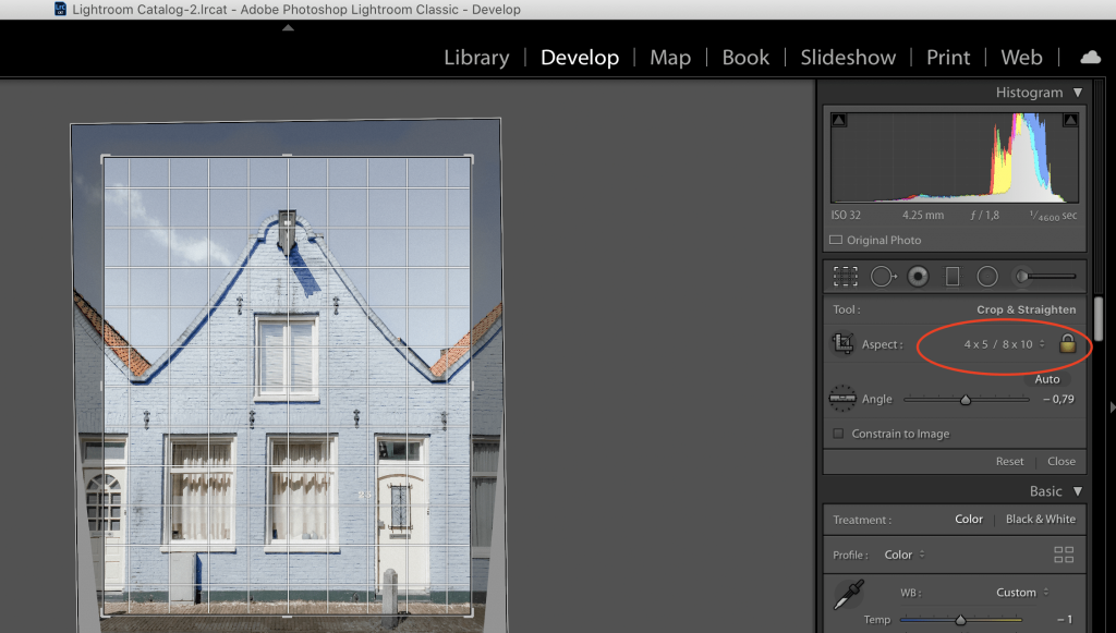 adobe lightroom settings to fix instagram photos blurry