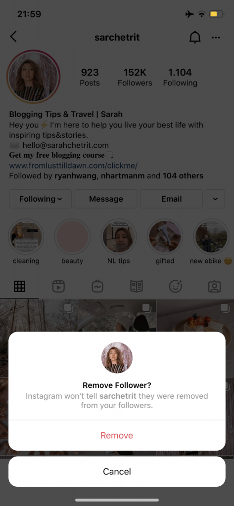 Photo of how to force unfollow a follower on Instagram